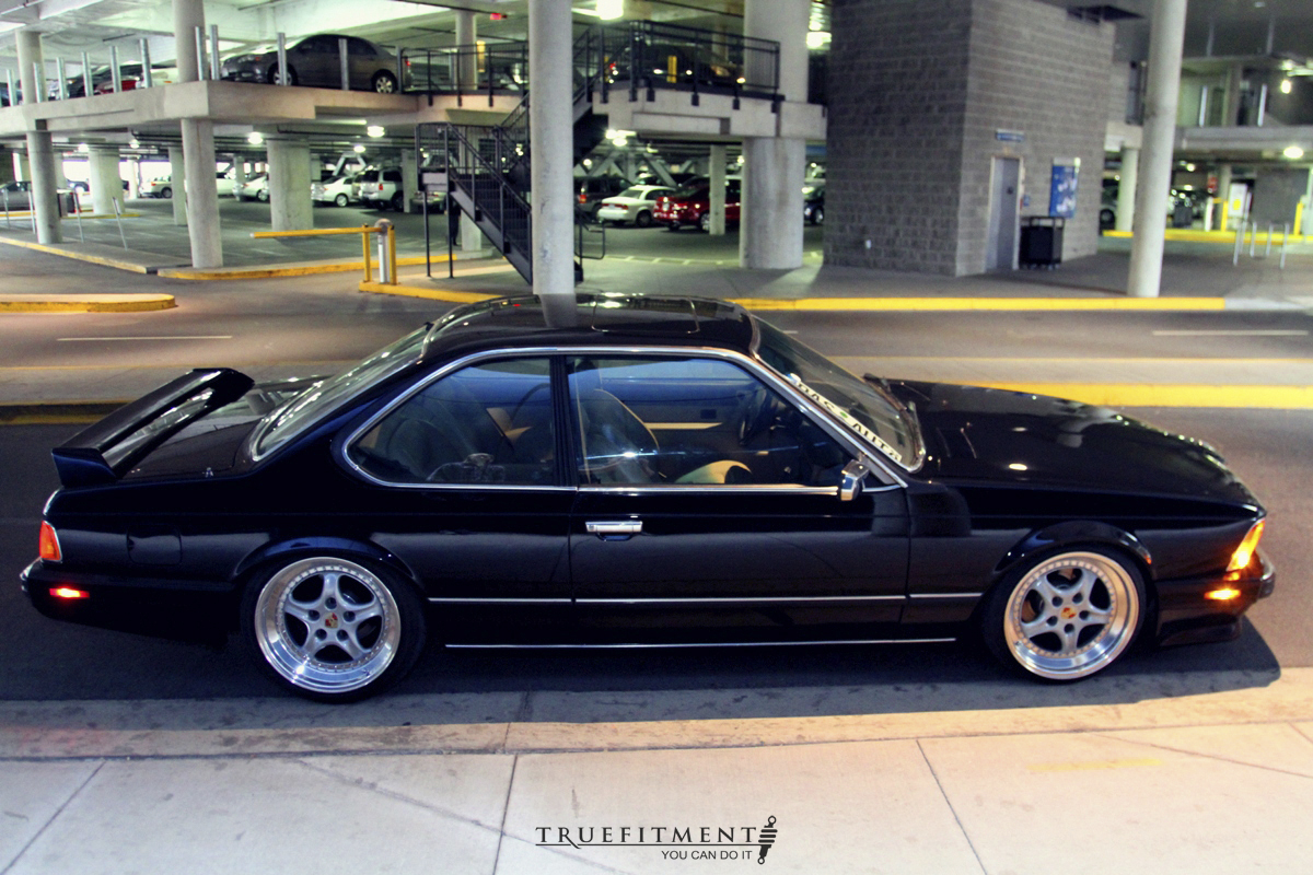 Car Picker Black Bmw E24