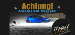 True Fitment Events. Winter Mode