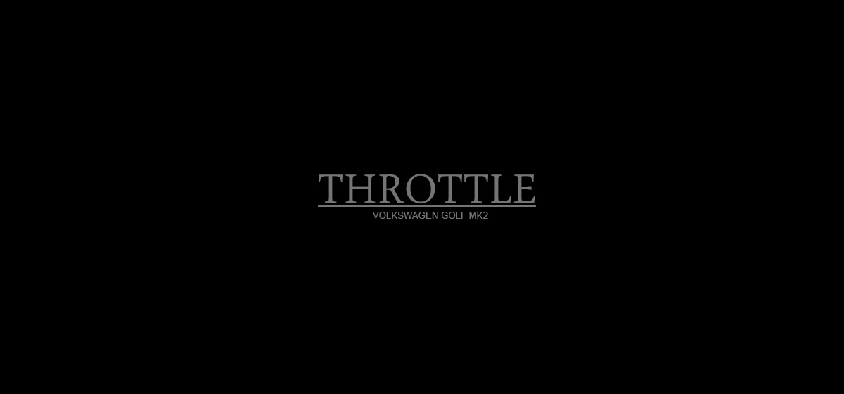 VIDEO: Throttle